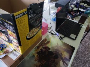 Example 2: Webcam attached to stand (laptop)